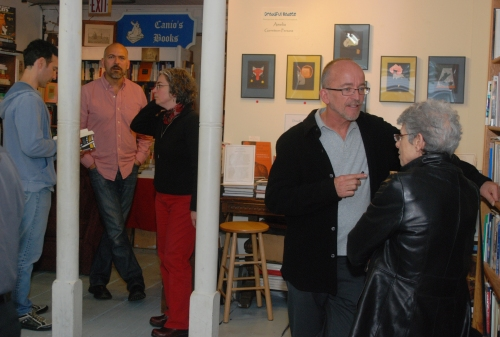 Mark Doty - Paul, Maryann after May 09 reading